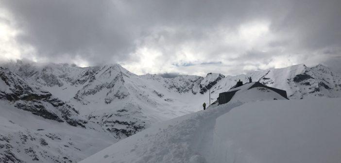 Witte bergtoppen met Thomas de Dorlodot